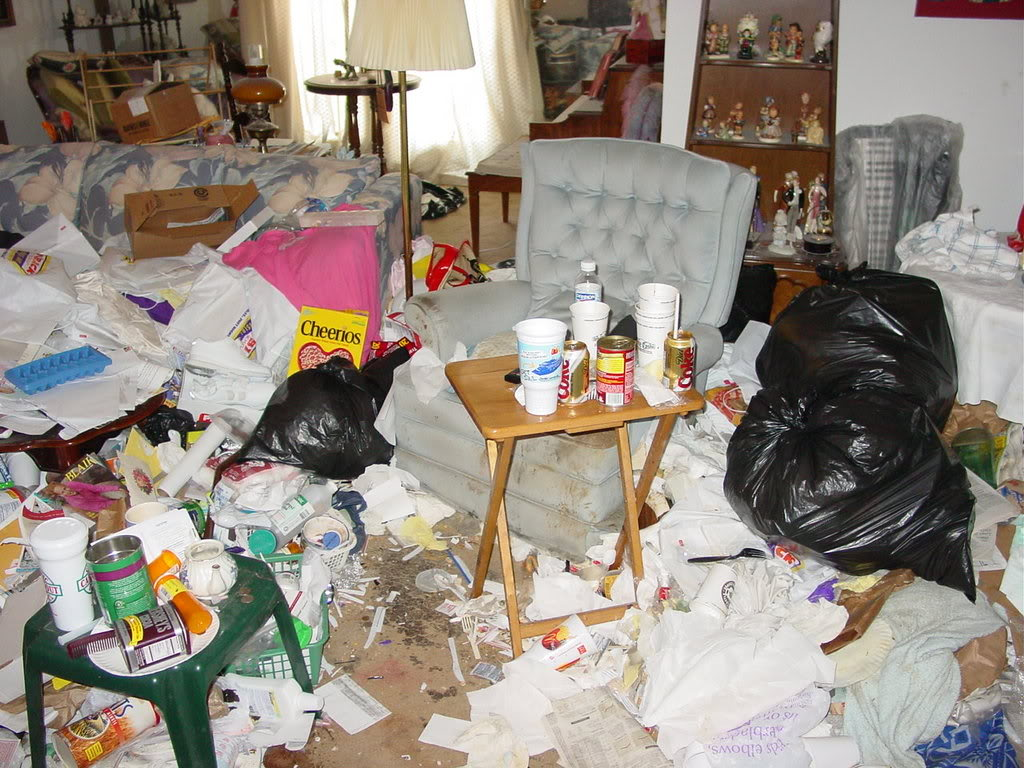 Verminous cluttered house clearance specialists nhc for Cleaning out house after death