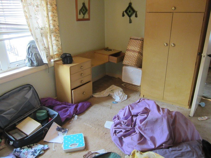 House Clearance Leeds Before After Photographs