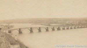 Berwick Bridge also known as the Old Bridge.