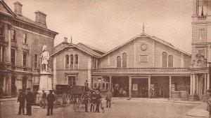 Station Square, Inverness Antique Vintage Photograph
