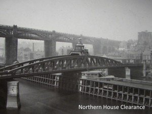 Newcastles Swing Bridge