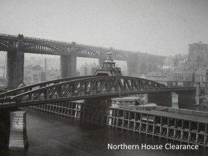 Newcastles Swing Bridge