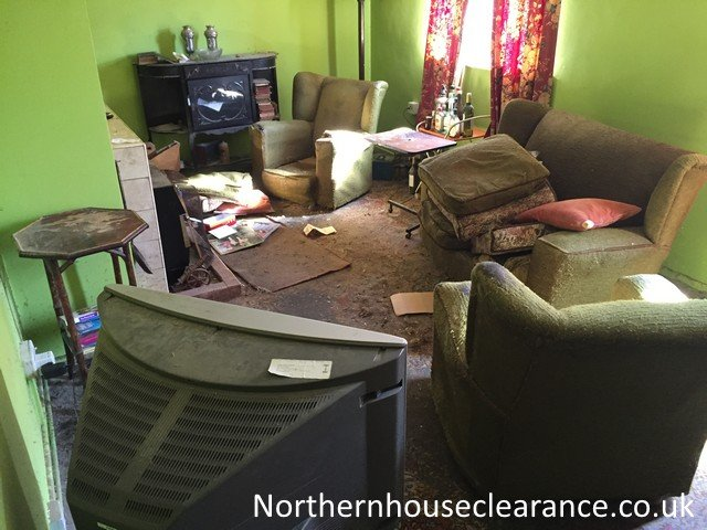 House Clearance Burnley Before After Photographs