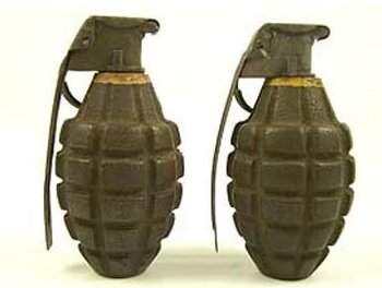 Antique Grenades