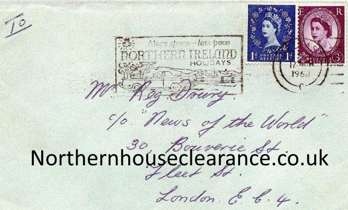 George Best Envelope