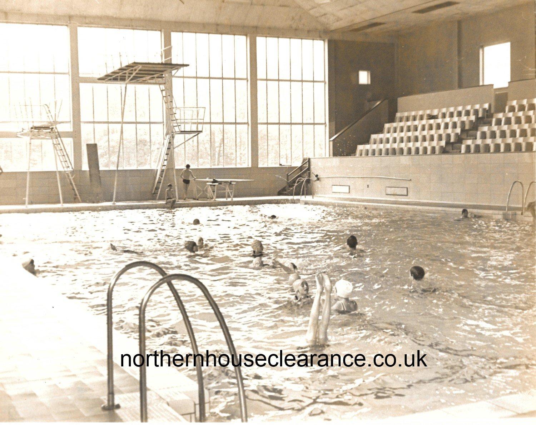 Swimming Pool Antiques : Antique vintage photographs dunston swimming pool nhc