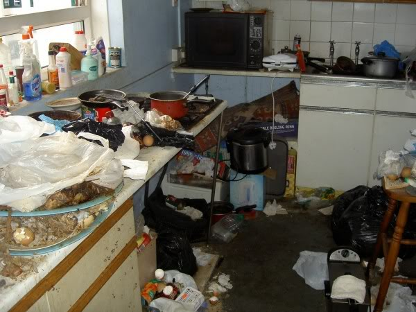 Clearing a hoarder's house: Hoarder house cleaning service cluttered declutter and clean.