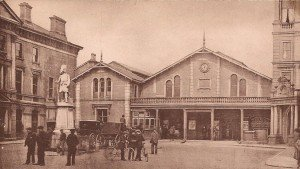 Station Square, Inverness Antique Vintage Photograph